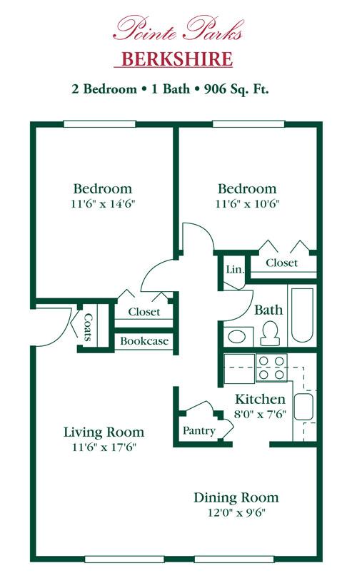 Eastland Village Apartments Harper Woods, MI Apartment Rentals ...